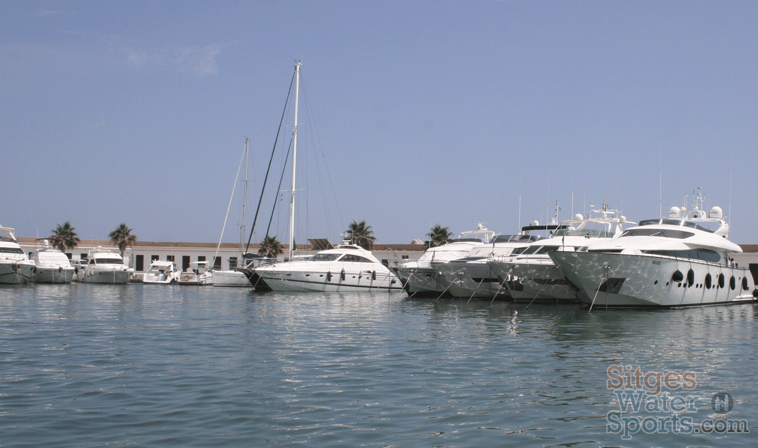 Charter a Motorboat in Sitges