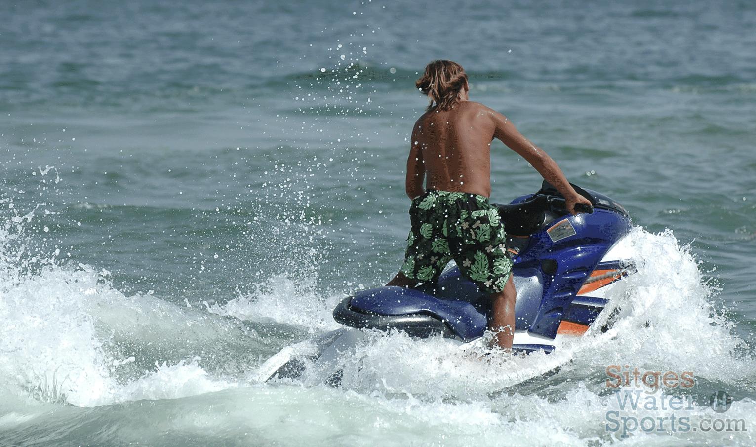 JetSki in Sitges