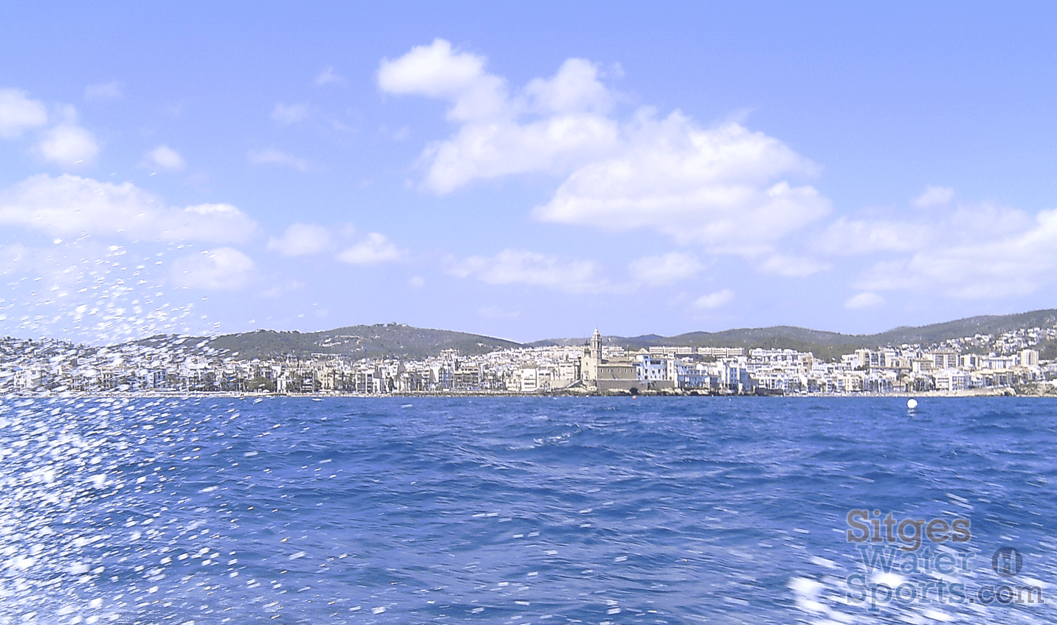 Boat Cruise Ride of Sitges